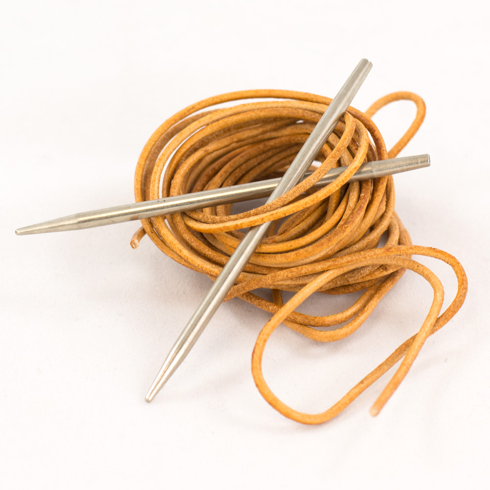 CocoKnits Leather cord and Needle kit.