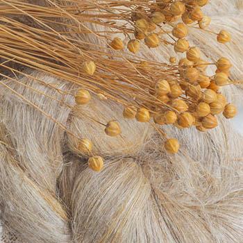Hør og nælde fibre